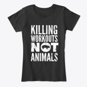 women's exercise vegan shirt