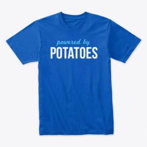 unisex potatoes shirt