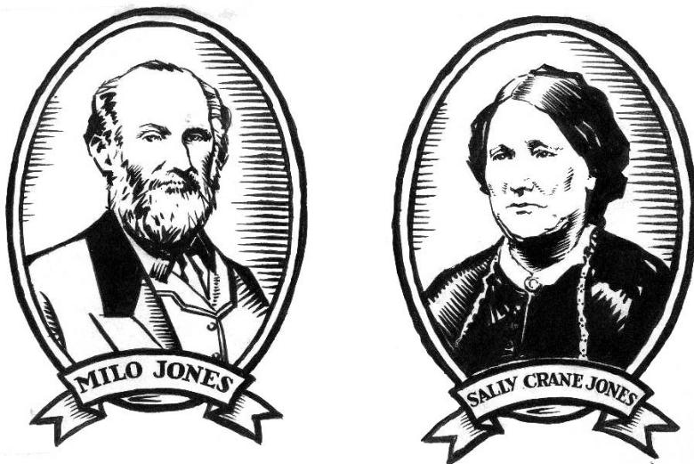 マイロ・ジョーンズと妻サリー