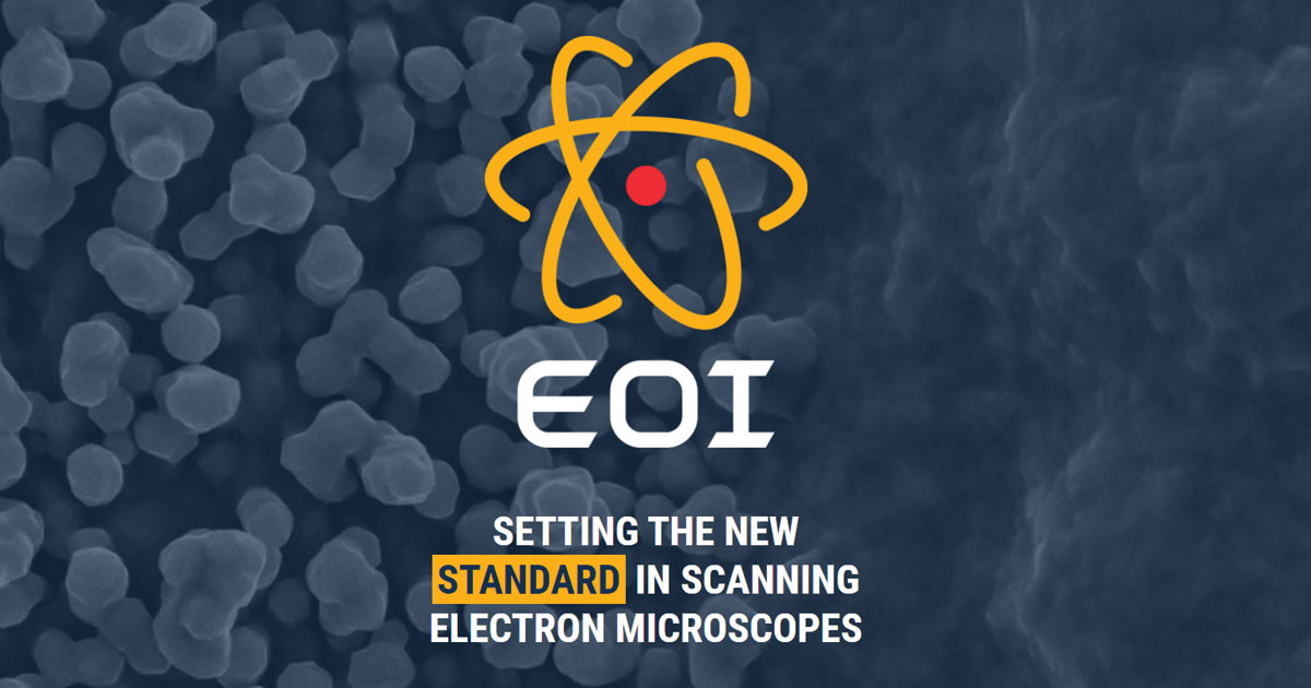 SEM Products: Scanning Electron Microscopes from EOI
