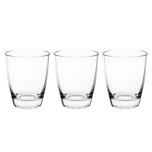The Trident Water Company - TWC - 3 Water Glasses