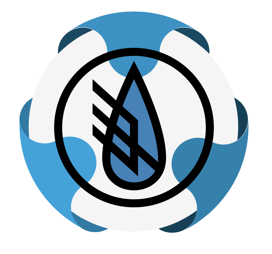 Trident Water Company - TWC - Logo Icon Background Wrap
