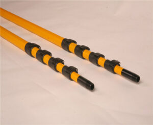 What is the principle and application of telescopic pole