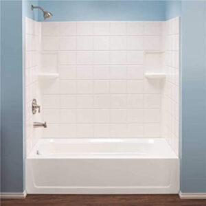 How to clean fiberglass tub