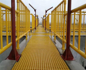 Why FRP gratings are used as stair treads