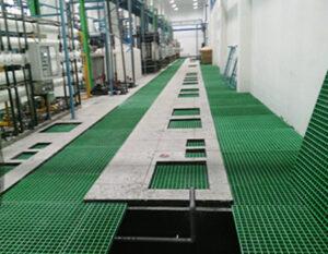 Grating Floor