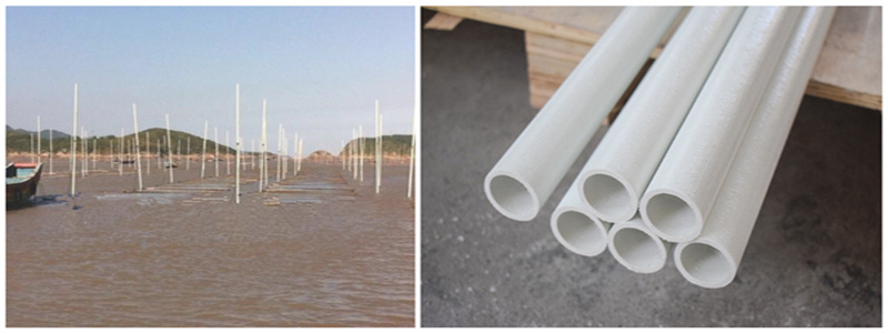 Application of FRP Round Pipe in Aquaculture