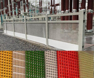 Features and Application of FRP Grating Fence