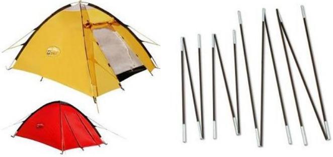 Fiberglass Pultruded Tent Pole