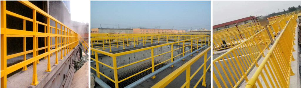 Fiberglass Handrail and Fencing System