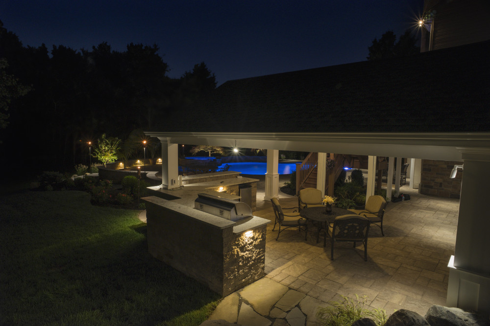 Landscape Lighting | Young's Landscape Management, Inc.