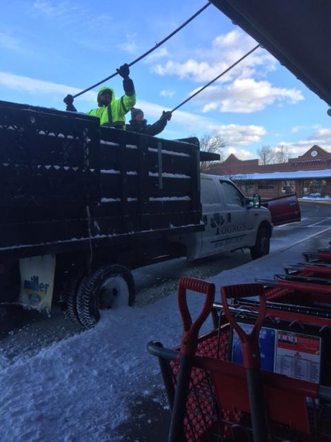 Snow and Ice Removal | Youngs Landscape Management Inc