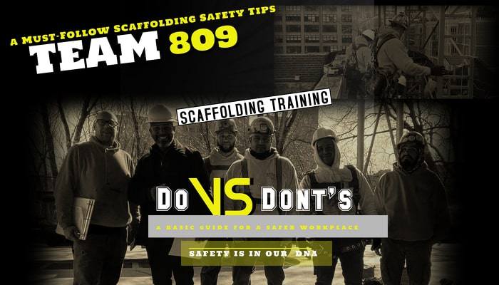 Scaffolding-Safety tips