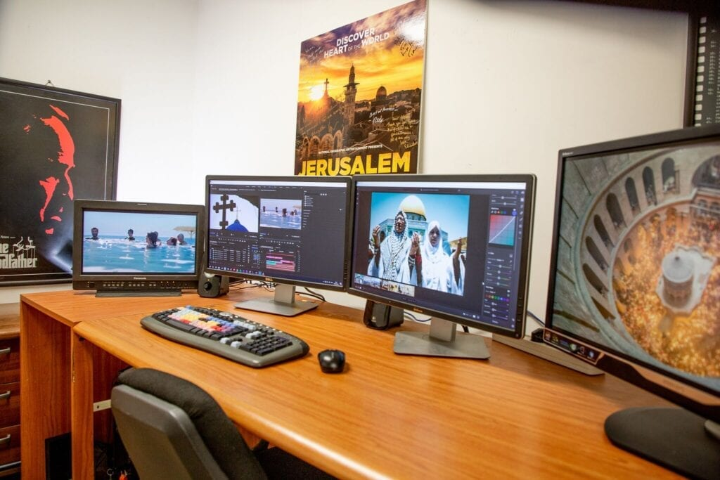 Video editing in Israel and Palestine