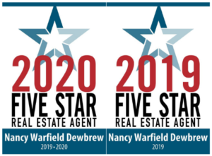 Nancy's Real Estate 2020 five star agent