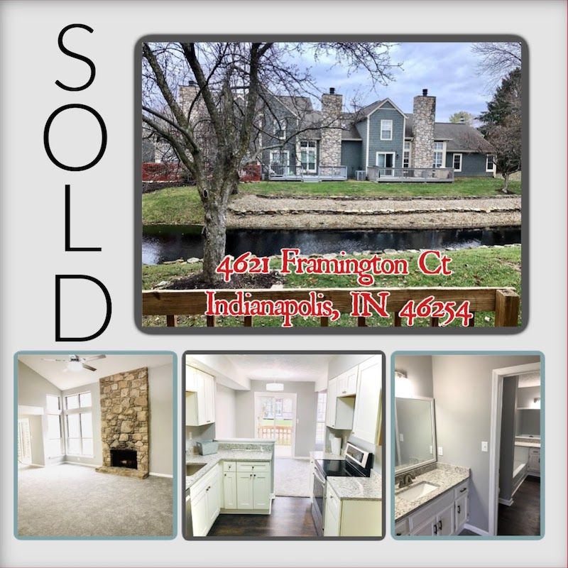 Indianapolis Nancy's Real Estate Team Sold Property