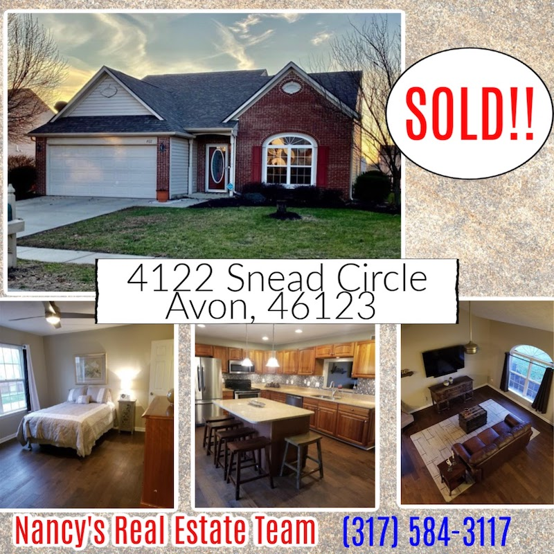 Nancy's Real Estate Team Sold Property in Avon, IN