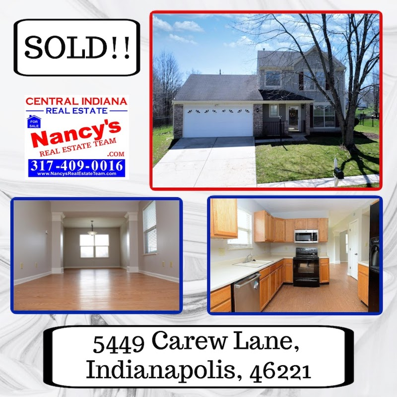 Nancy's Real Estate Team Sold Property in Indianapolis, IN