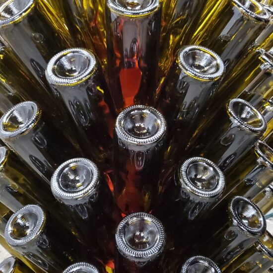 Westchester empty wine bottles