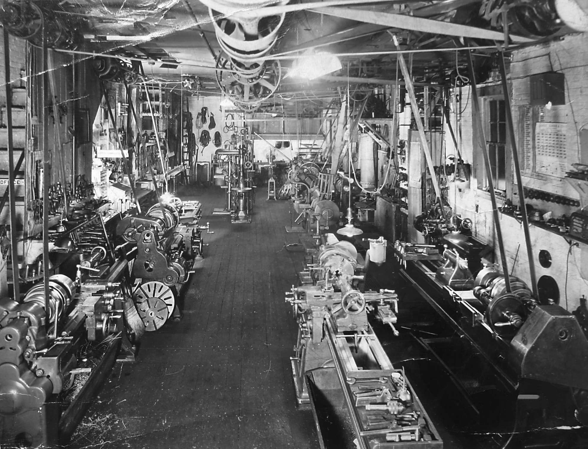 BOLD MACHINE WORKS - SHOP IN 1948