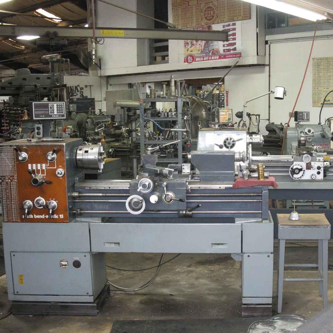 Bold Machine Works - Shop Photo