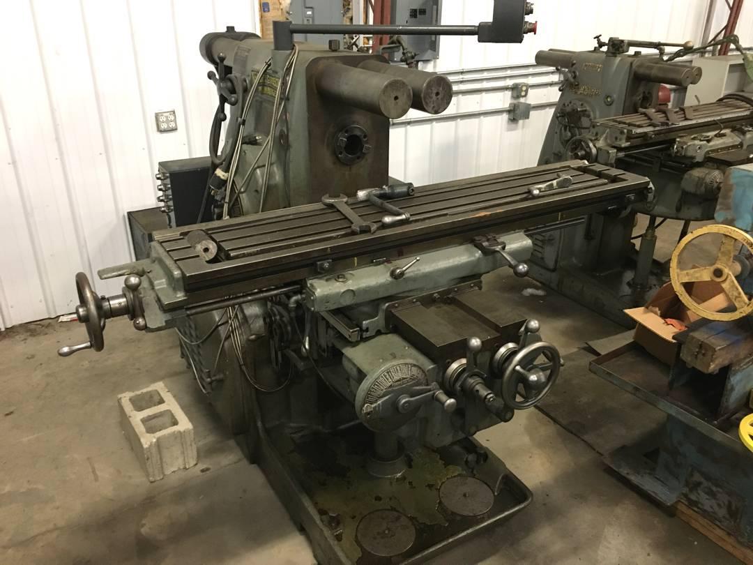 For Sale - Kearney Trecker Milwaukee Mill
