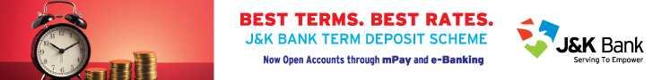 JK Bank Advertisement