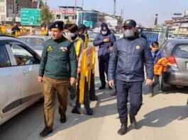 Traffic Police City Srinagar