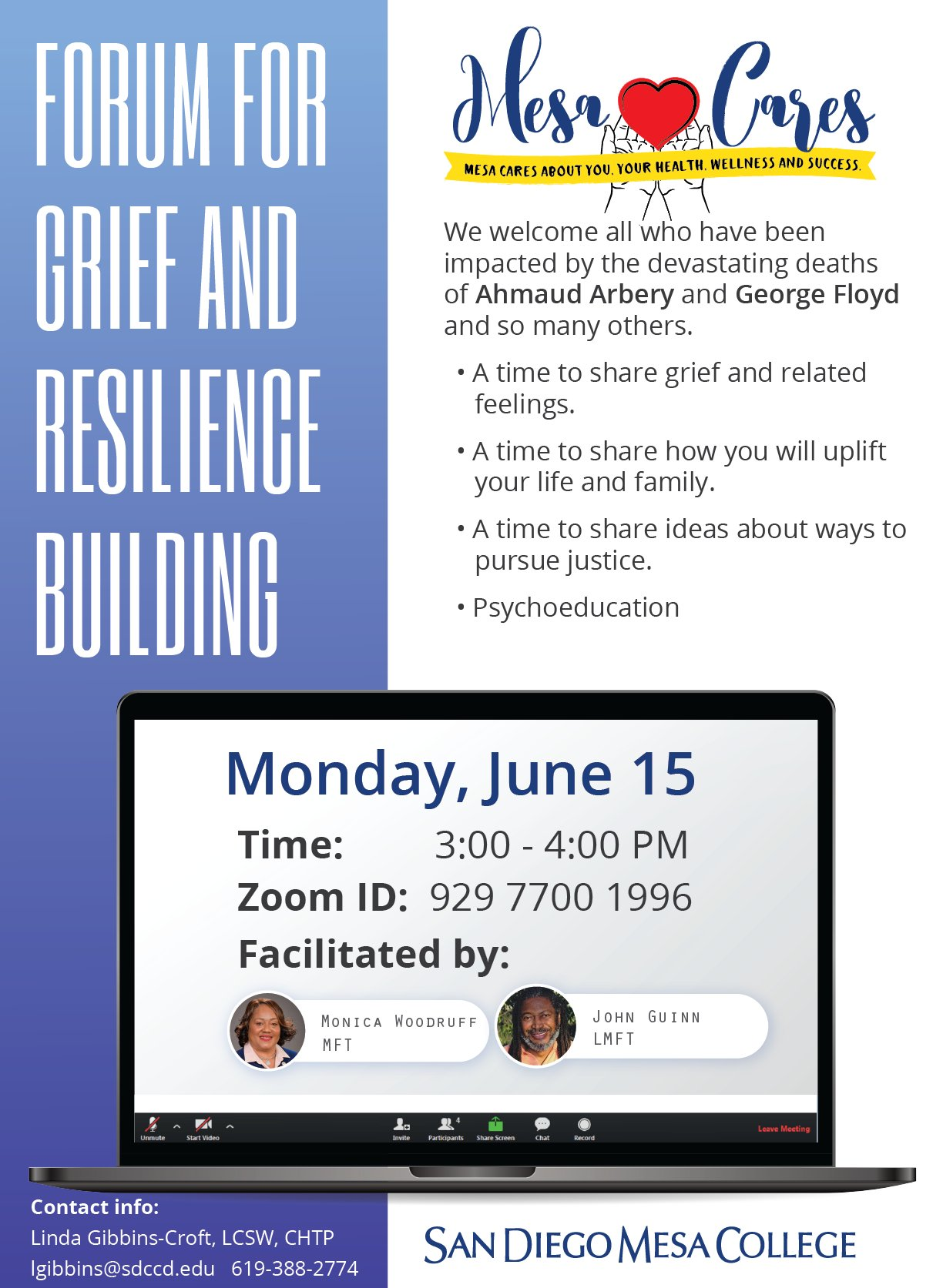 Forum for Grief and Resilience Building
