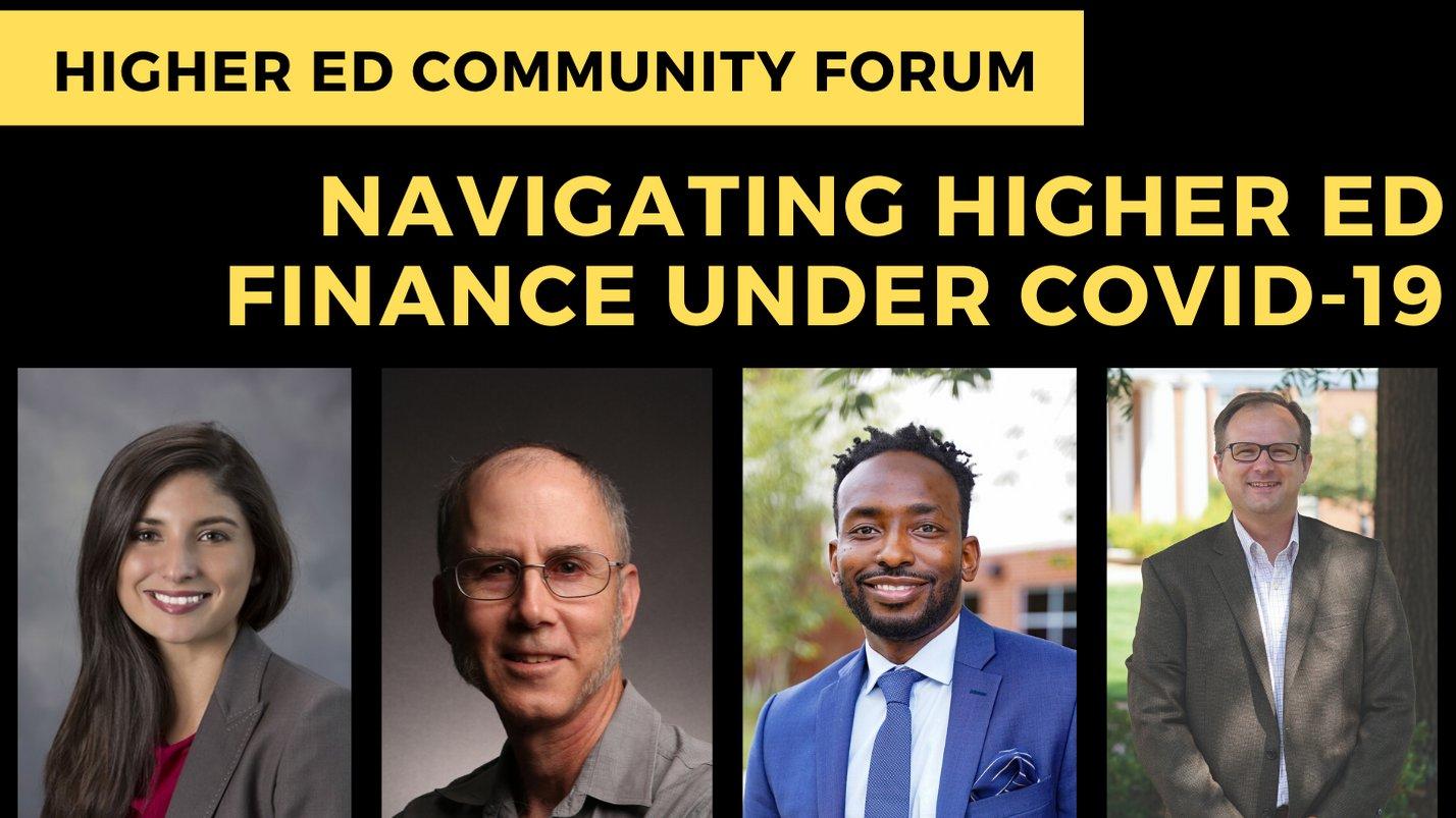 Navigating Higher ED Finance Under COVID19
