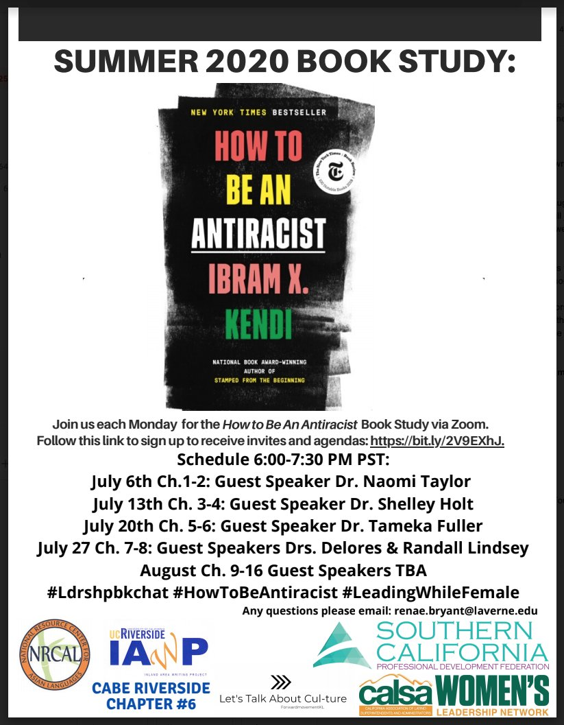 Summer Book Study: How to Be Anti-Racist