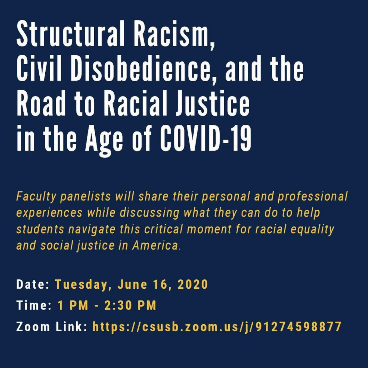 Structural Racism and Civil Disobedience