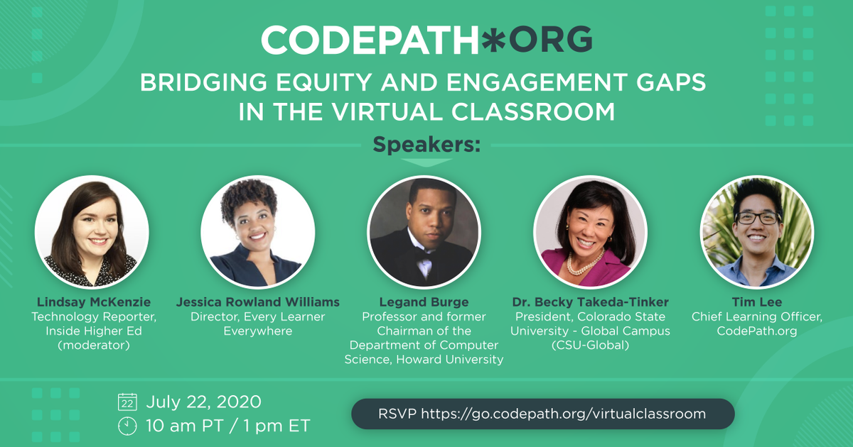 BRIDGING EQUITY AND ENGAGEMENT GAPS IN THE VIRTUAL CLASSROOM