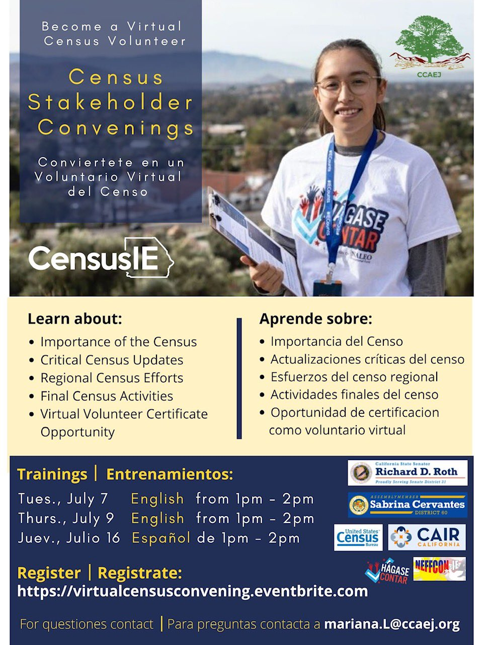 Census Stakeholder Convenings