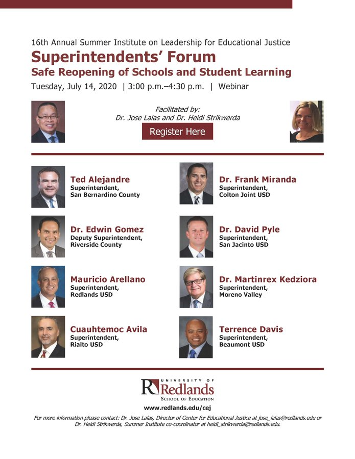 The Superintendents' Forum