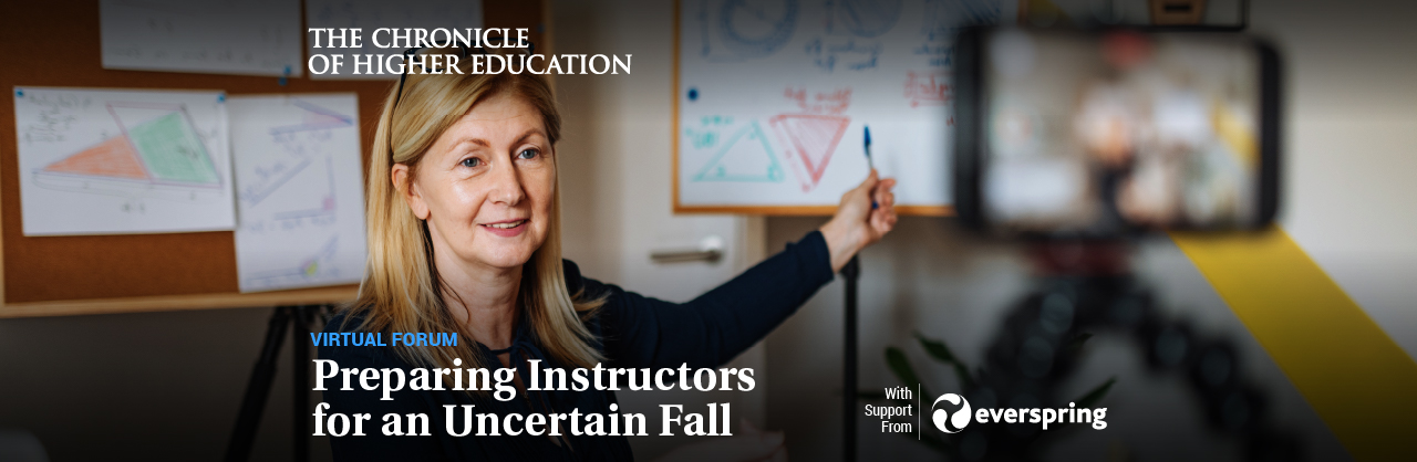 Preparing Instructors for an Uncertain Fall
