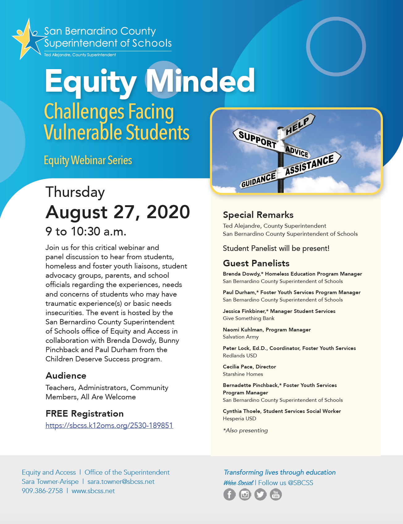 Equity Minded: Challenges Facing Vulnerable Students