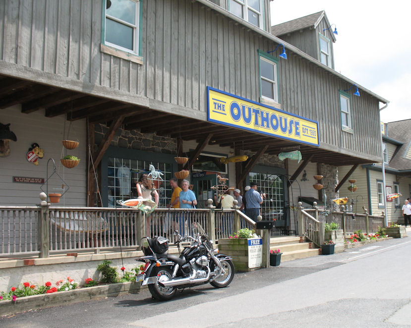 """The Outhouse – """"Village of Dutch Delights"""""""