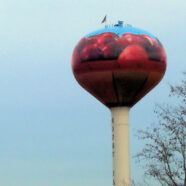 Giant Apple Basket Tower *updated