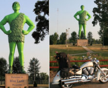 It's The Jolly Green Giant!