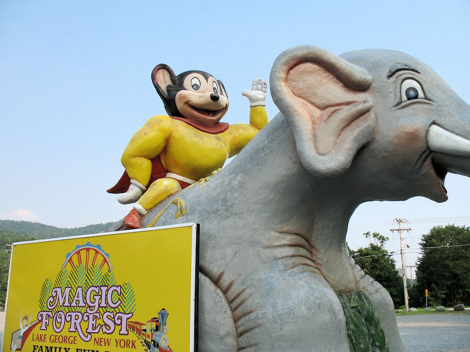 Mighty Mouse & Dumbo