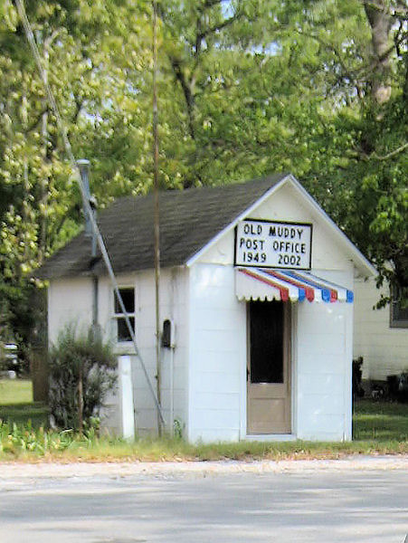 Tiny Post Office – Muddy, Illinois