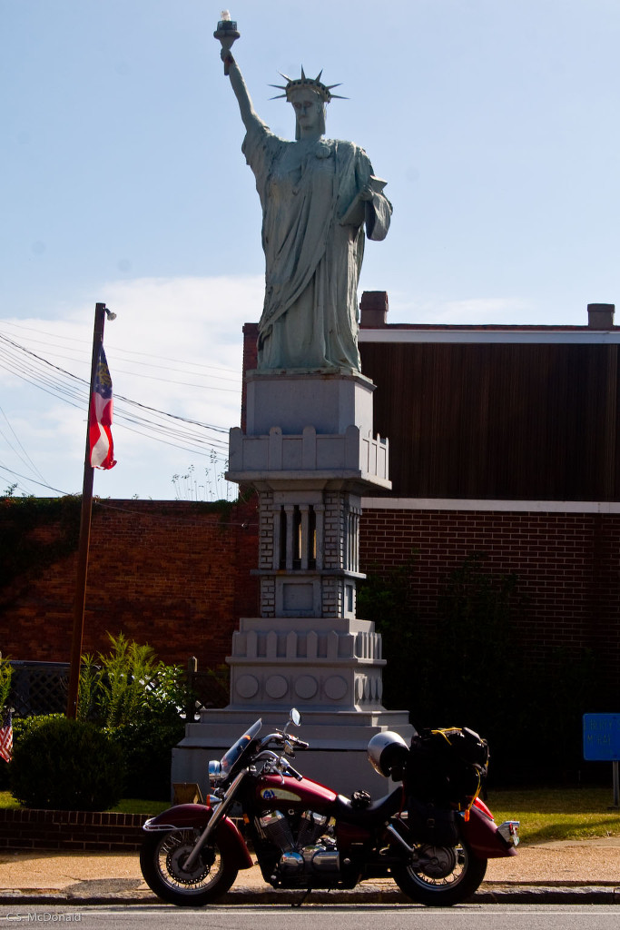 Lady Liberty Stands Proud in McRae