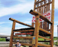 The World's Largest Cedar Rocking Chair