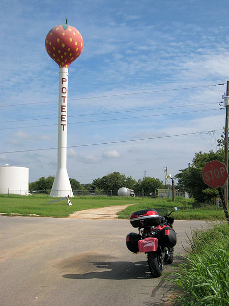 strawberry water tower