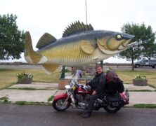 A Walleye . . . This Big!