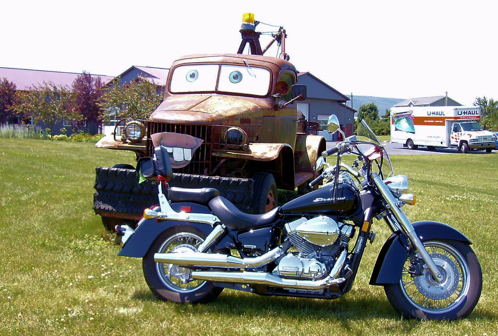 """It's A Real Life """"Tow Mater""""!"""