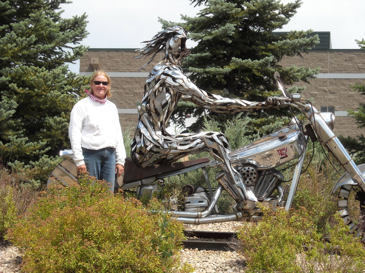 High Country Rider Sculpture