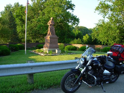 Madonna of the Trail – Springfield