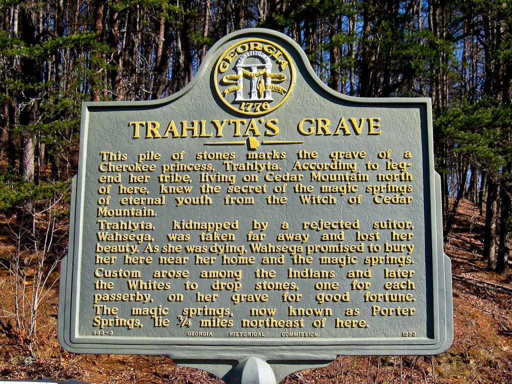 Trahlyta's Grave